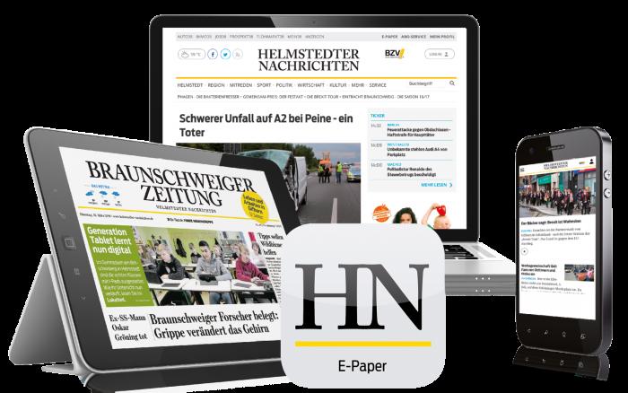 Das Digital-Paket der Helmstedter Nachrichten.
